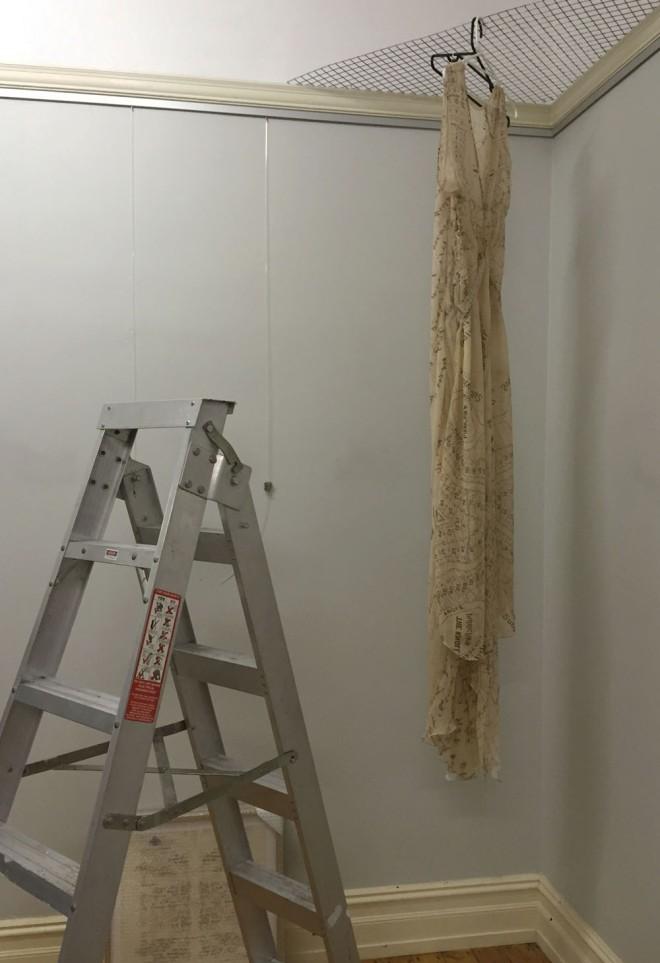 Installing the dress