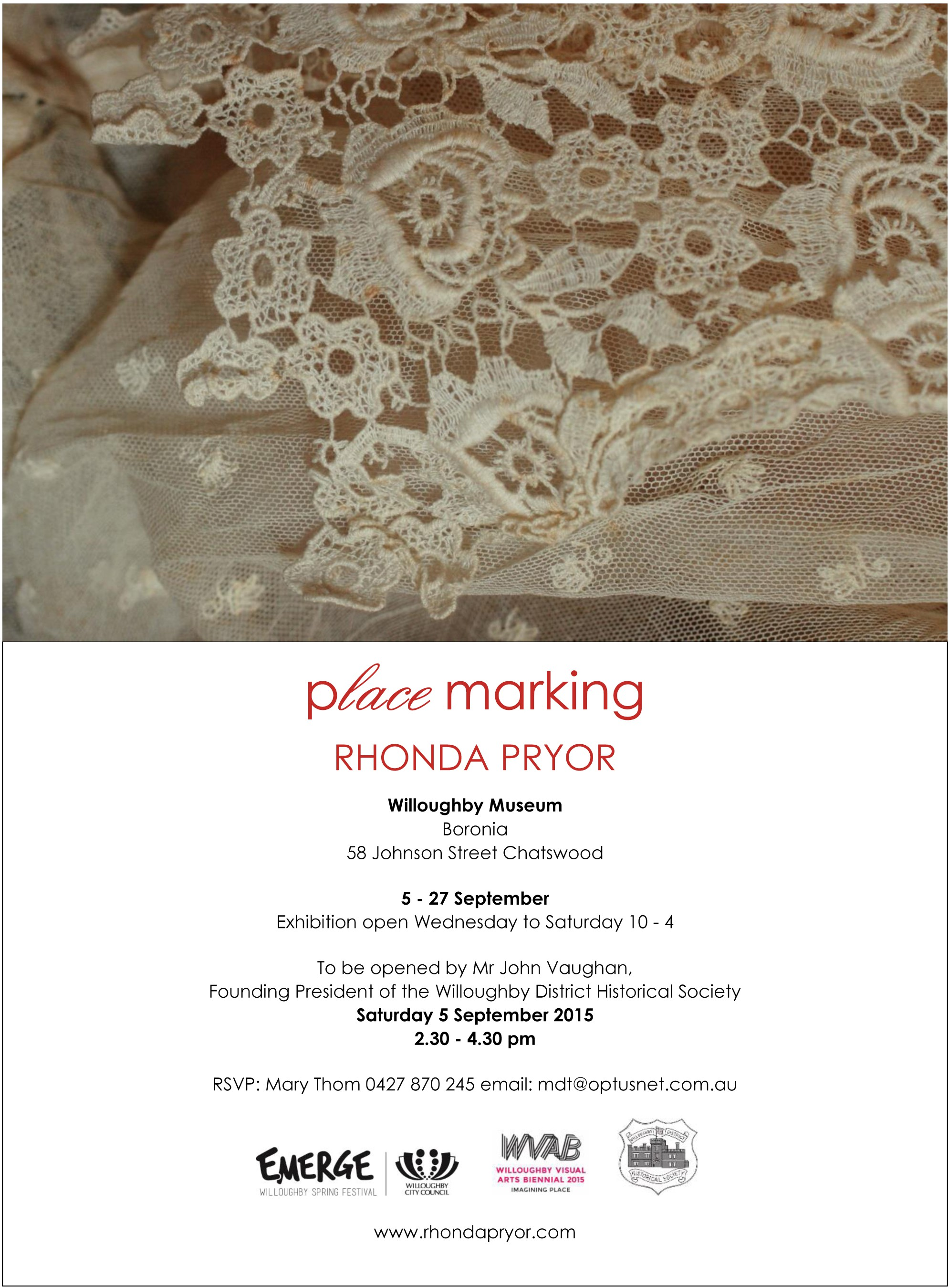 Placemarking invitation